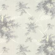 Moda Whitewashed Cottage by 3 Sisters - 3745 - Pale Stone Floral Spray - 44063 24 - Cotton Fabric